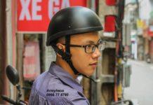 mũ bảo hiểm cho nam và nữ thời trang